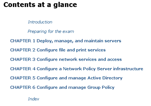 Index of MCSA 70-411: Administering Windows Server 2012 R2